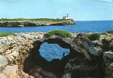 Alte Postkarte - Porto Colom-Fellanitx - Leuchtturm