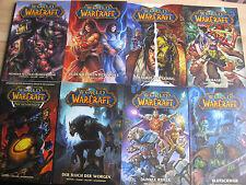 World of Warcraft Konvolut Sammlung 8 Bände komplett 1500 Seiten RAR Panini