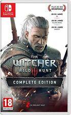 The witcher 3 Complete Edition (switch) (nuevo con embalaje original) (Uncut) (envío rápido)