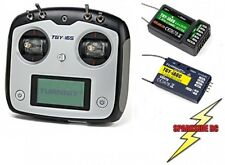 Turnigy TGY-i6S 2.4Ghz 6 Channel RC Transmitter 2 Receivers Digital - Mode 2