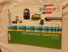Roco Katalog Prospekt International Collection   lV 2002 , neuwertig