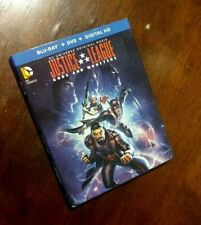 Justice League: Gods And Monsters (Blu-ray + Dvd) w/ slipcover outer sleeve
