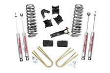 "ROUGH COUNTRY 4"" SUSPENSION LIFT KIT FORD BRONCO FULLSIZE 1978-1979 4WD 302 351"