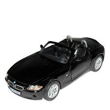 "5"" Kinsmart BMW Z4 Convertible Diecast Model Toy Car 1:32 Black"
