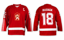 Team Czechoslovakia CSSR Ice Hockey RED Jersey Custom Name and Number