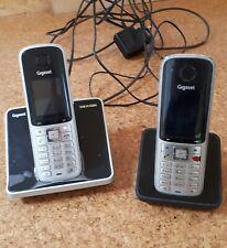 2 Mobilteil Telefone Gigaset SX810ISDN, gebraucht, Silber
