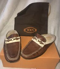 Tods Brown Women's Loafers 37