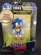 Sonic the Hedgehog 20th Anniversary 1991 Figure Sonic Through Time.