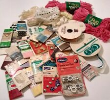 Lot of Vintage Sewing Notions Crafting Supplies