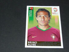 N°110 BRUNO ALVES PORTUGAL PANINI FOOTBALL UEFA EURO 2008