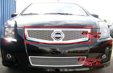 Fits 07-10 Nissan Sentra Stainless Mesh Grille Insert