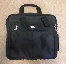 """TARGUS 17""""+ Computer Laptop Bag-Carry On-Top Load PC Overnight Briefcase Black"""