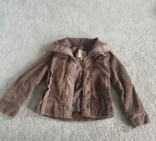 BKE Jacket Womens Distressed Deep Brown Size Small