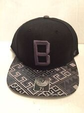 Boston Red Sox 47 Brand MLB COOP Moroc Fitted Hat Size 7 1/4  Black