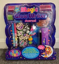 "Vintage Lisa Frank ""Magic Glow Writer Journal"" SEALED NEW RARE Notebook Stickers"