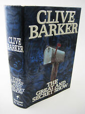 1st Edition Great And Secret Show Clive Barker Horror Fantasy First Printing