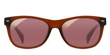 EnChroma Ellis Indoor Glasses - Color Blind Glasses (Matte Brown)