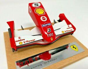 Amalgam Ferrari 248 F1 Nosecone & Front Wing 1/12 Scale Replica Model <e36>