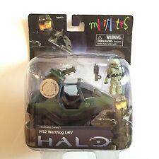 Microsoft Xbox 360 Minimates Halo M12 Warthog LRV w/ Master Chief Action Figure