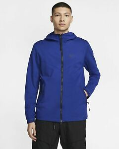 $130 NEW Nike TECH FLEECE pack sportswear ZIP UP Hoodie Dodger Blue BV4489 455 M