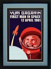 Gagarin First Man in Space Poster Highest Quality
