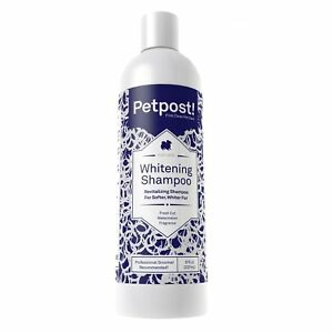 Petpost | Whitening Shampoo - Lightening Treatment for Dogs with White Fur