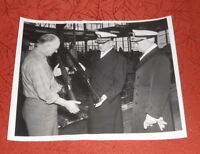 1949 Press Photo Oakland Naval Supply Center Inspection Admiral McCormick