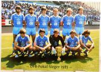 Bayer 05 Uerdingen + DFB Pokal Sieger 1985 + Fan Big Card Edition F117 +