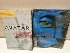 AVATAR Blu-Ray + DVD Exclusive Steelbook with Survival Guide Brand New & Sealed+