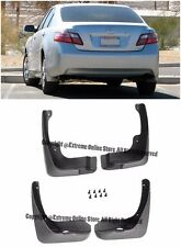 For 07-11 Toyota Camry Front Rear Fender 4 Pcs Mud Flaps Mudguard Splash Guards