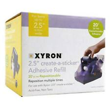 New Xyron Create-A-Sticker 250 Repositionable Refill Cartridge - Free Shipping