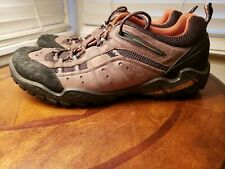 6b4b7a942f9f6 ECCO Epr 4.0 yak brown Mens Sz 44 EU / 11 US Brown Leather Hiking Trail