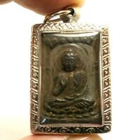 LP SUK SOOK LORD BUDDHA BLESSING THAI MAGIC TAKRUT MIRACLE AMULET LUCKY PENDANT