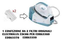 2 FILTRO A CARTUCCIA ORIGINALI  PER FERRO DA STIRO ELECTROLUX EDBS3360 EDBS3370