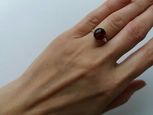 Baltic amber, female ring