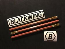 3 pieces Blackwing Pencils Vol. 10001 Five Sided Gokaku Shape Firm Graphite