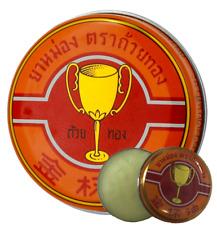 4 G. Golden Cup balm Thai Balm, Ointment relief muscular pain, sprains