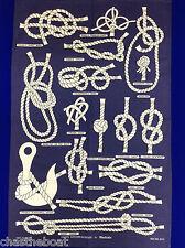 Nautical Knots Galley Cloth Tea Towel