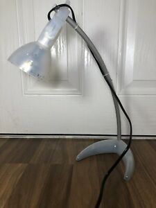 Ikea Morker A0207 Desk Lamp Clear / Translucent Adjustable Lamp Working 45cm