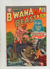 Showcase Comics #67 - 2nd App B'Wana Beast Elephant Cover - (Grade 8.0) 1967