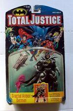 Vintage kenner batman total justice Fractal armor action figures figure mint
