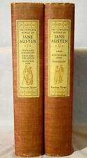 The Complete Novels of Jane Austen. 2 vols 12 Color Plates 1950