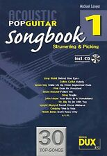 Acoustic Pop Guitar Michael Langer Songbook Band 1