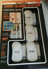 Bell & Howell Sonic Alarm set of 4 Nib