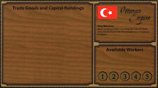 Empires: Age of Discovery - Ottoman Player Board