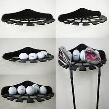 Golf Club and Golf Ball Multifunction Wall Display Rack / Wall Mount Bracket