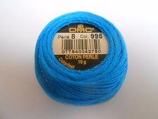 DMC Perle 8 Sfera Di Cotone Blu/Colore Turchese Numero 995