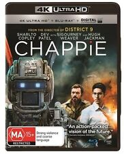 Chappie (Blu-ray, 2016, 2-Disc Set)