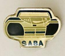 SABA Boom Box Retro Radio Cassette Player Advertising Pin Badge Vintage (C23)