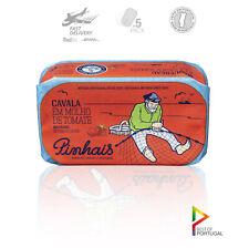 Pinhais - Portuguese Gourmet Artisanal Spiced Mackerel in Tomato Sauce (5 Pack)